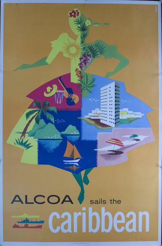 1958 ALCOA Sails the Caribbean by JAW