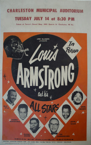 1957 Louis Armstrong and his All Stars | Charleston Municipal Auditorium