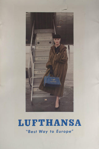 "1960 Lufthansa ""Best Way to Europe"""