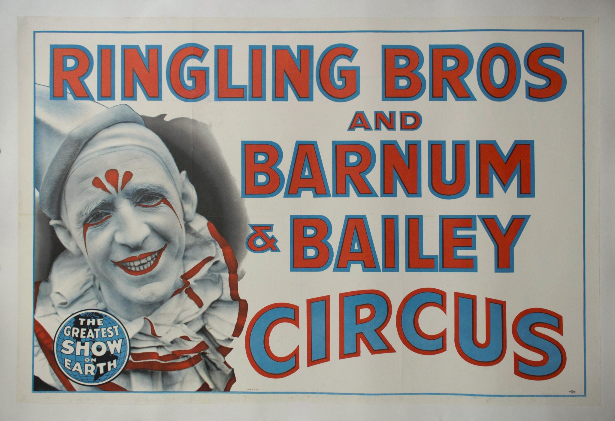 c. 1940 Ringling Bros and Barnum & Barile Circus | The Greatest Show on Earth
