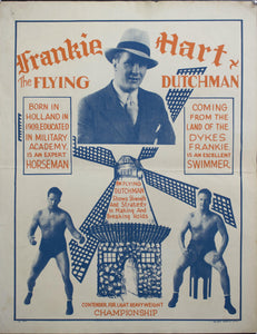 c. 1930 Frankie Hart The Flying Dutchman | Shows Strength and Strategy to Making and Breaking Holds