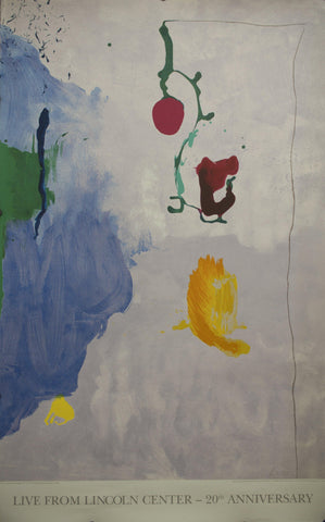 1995 Live From Lincoln Center - 20th Anniversary by Helen Frankenthaler
