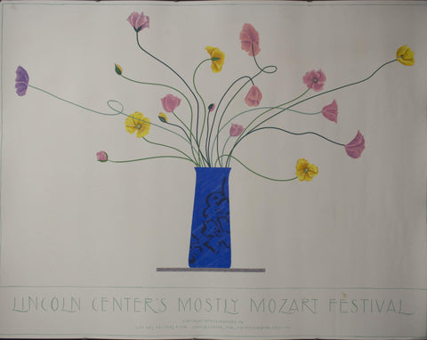 1996 Lincoln Center's Mostly Mozart Festival by Ed Baynard - Golden Age Posters