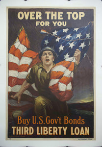 c. 1918 Over the Top for You | Buy US Gov't Bonds Third Liberty Loan