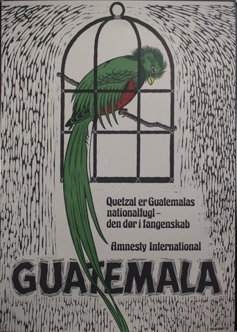 1979 Quetzal er Guatemalas nationalfugl | Amnesty International | Guatemala