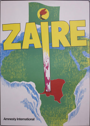 c. 1970 Zaire Amnesty International