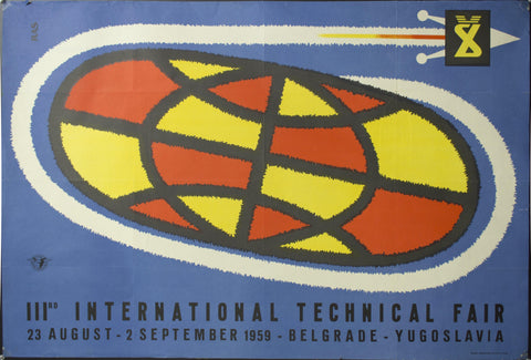 1959 IIIrd International Technical Fair | Belgrade - Yugoslavia | Sputnik