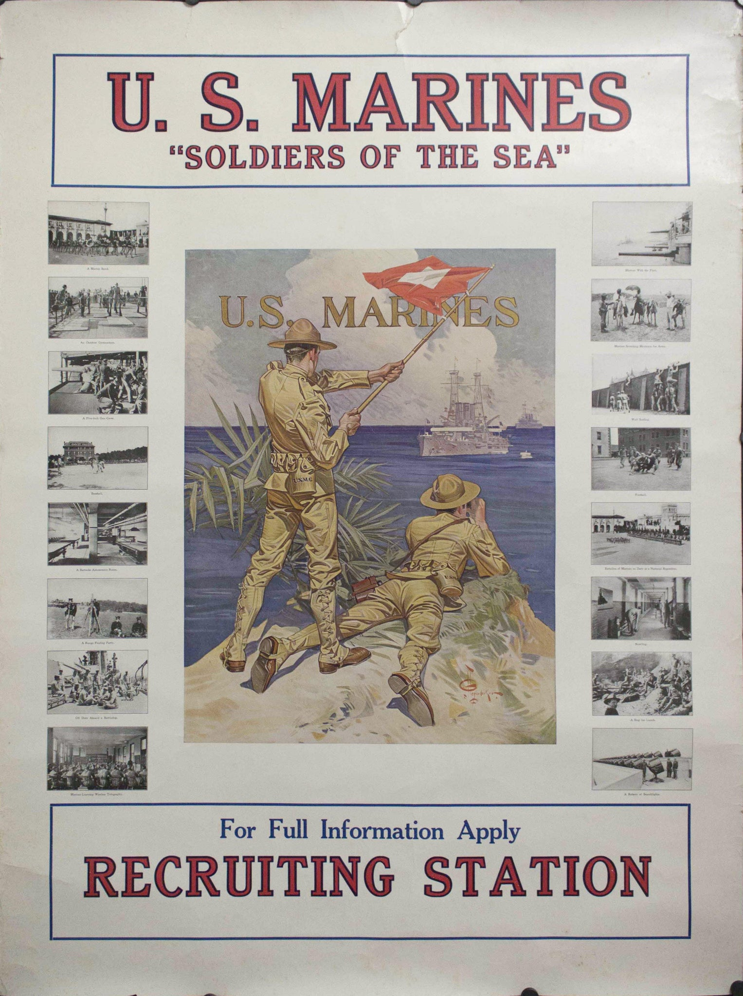"1917 U.S. Marines ""Soldiers of the Sea"" 