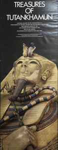 1976 Treasures of Tutankhamun Gold Coffin Art Museum Gallery - Golden Age Posters