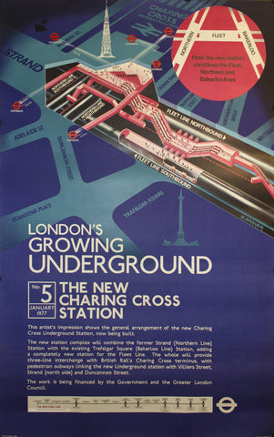 1976 London's Growing Underground by E Barker