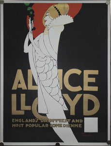 1968 Alice Lloyd England's Daintiest and Most Popular Comedienne