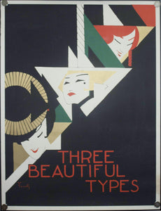 1968 Three Beautiful Types by Alfonso Iannelli