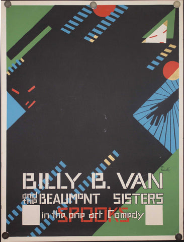 1968 Billy B. Van and the Beaumont Sisters by Alfonso Iannelli