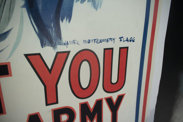 1917 Uncle Sam I Want You For U.S. Army James Montgomery Flagg