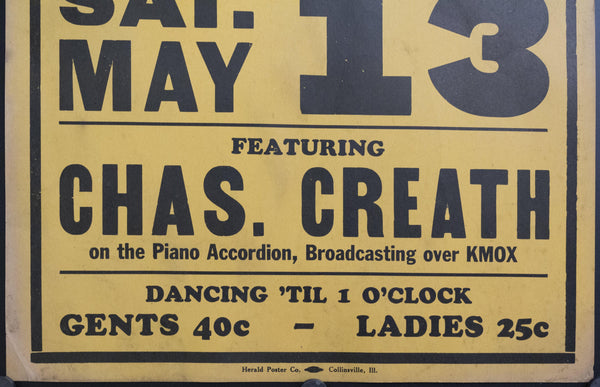 c. 1925 Bigger, Better Than Ever | Chas. Creath Directing Harvey Lankford's Synco High Hatters
