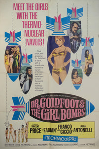 1966 Dr. Goldfoot & The Girl Bombs - Golden Age Posters