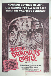 1969 Blood Of Dracula Castle
