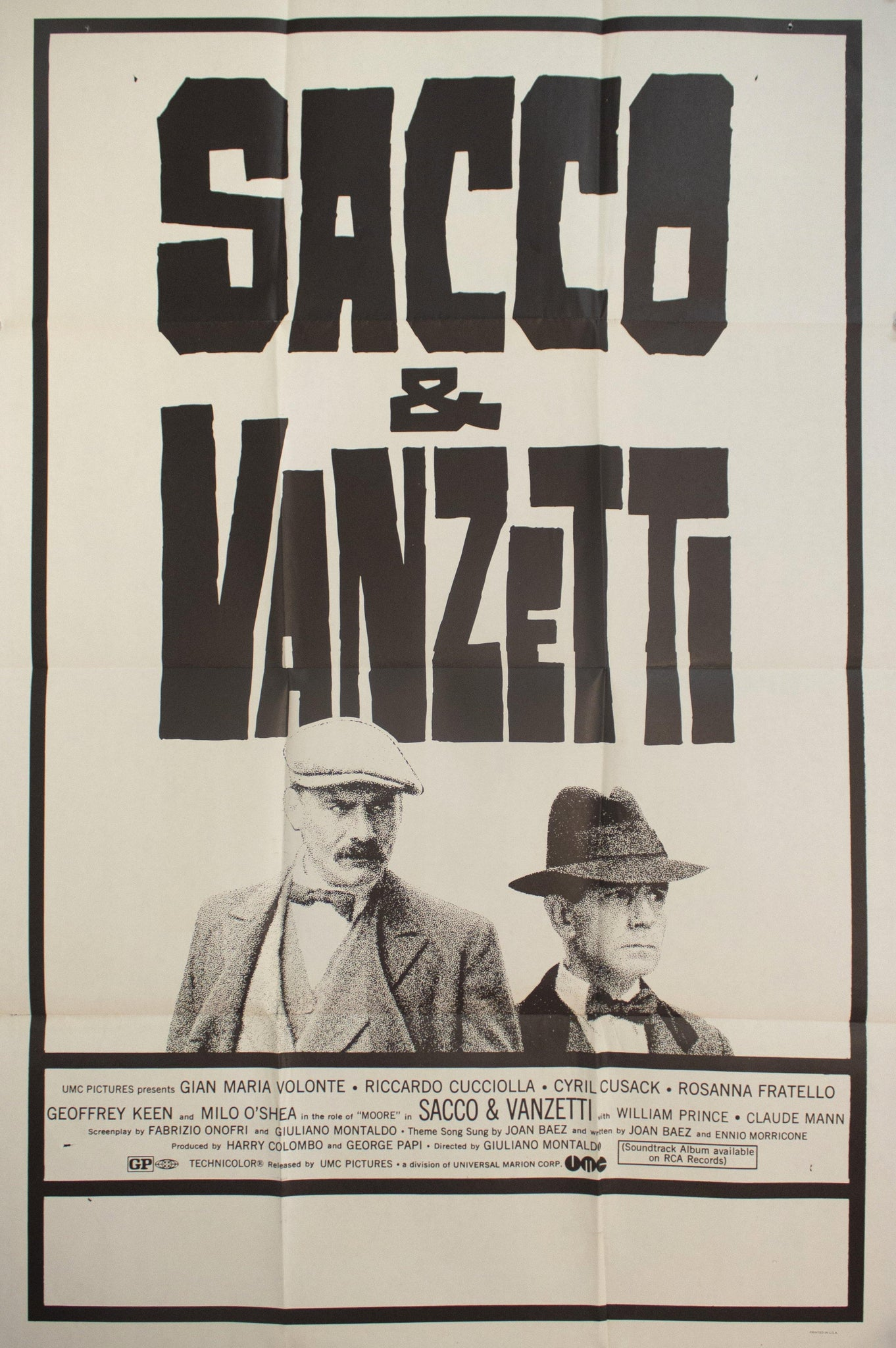 1971 Sacco And Vanzetti