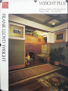 1976 A House Walk in Oak Park, Illinois by Frank Lloyd Wright - Golden Age Posters