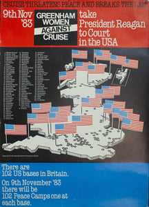 1983 Take President Reagan to Court in the USA | Greenham Women Against Cruise