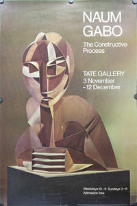 1976 Naum Gabo Constructive Process Tate Gallery - Golden Age Posters