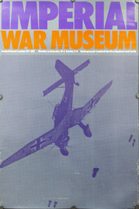 c. 1970 Imperial War Museum London Junkers Ju 87 by Peter Branfield - Golden Age Posters