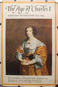1972 The Age of Charles I Painting at The Tate Gallery - Golden Age Posters