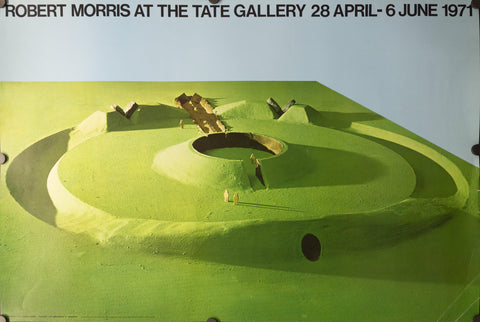 1971 Robert Morris At The Tate Gallery - Golden Age Posters
