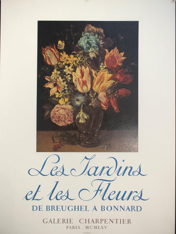 1965 The Gardens and Flowers Breughel A Bonnard French Gallery - Golden Age Posters