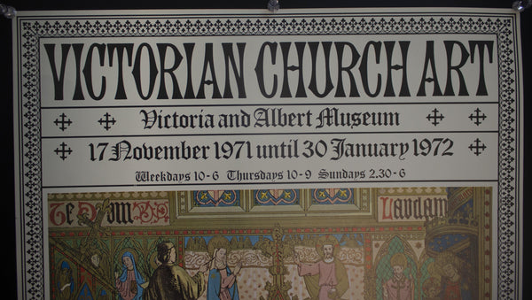 1971 Victorian Church Art at the Victoria Albert Museum