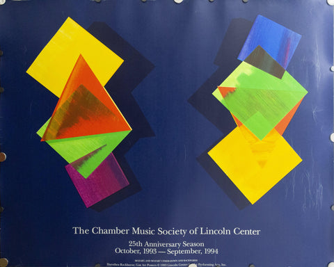 1993 The Chamber Music Society of Lincoln Center by Dorothea Rockburne