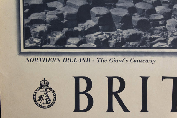 c. 1948 Northern Ireland The Giant's Causeway