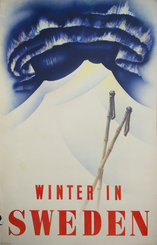 1935 Winter in Sweden | Northern Lights