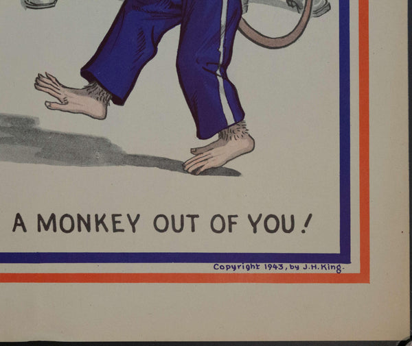 1943 We've Made A Monkey Out Of You! WWII