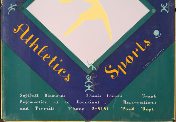c. 1935 WPA Connecticut Recreation Division | Athletics & Sports