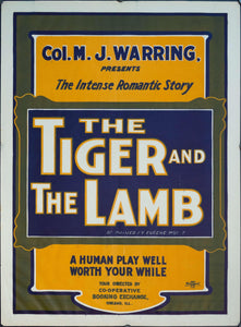 The Tiger and The Lamb - Golden Age Posters