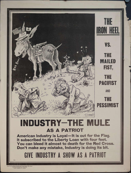 1917 The Iron Heel vs. The Mailed Fist, The Pacifist, and The Pessimist