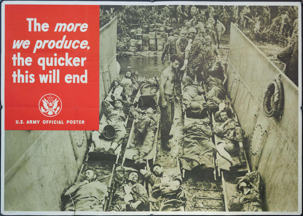 1944 The More We Produce, The Quicker This Will End