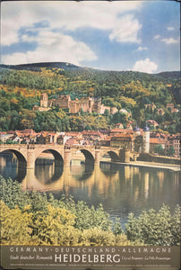 c. 1950s Heidelberg | City of Romance | Germany