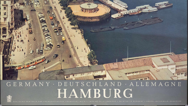 1950s Hamburg | Germany - Golden Age Posters
