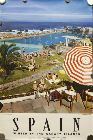 c.1959 Spain Winter in the Canary Islands | Puerto de la Cruz Tenerife