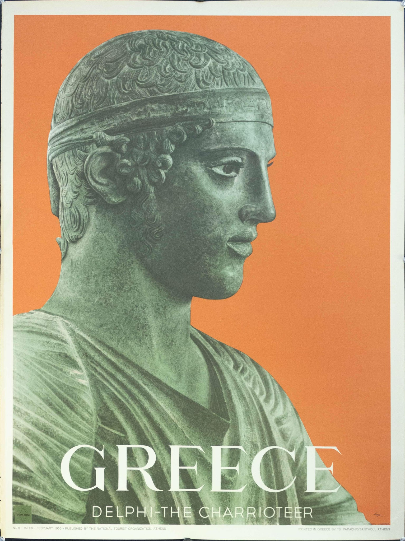 1956 Greece | Delphi - The Charioteer