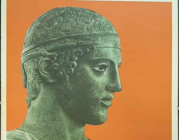 1956 Greece | Delphi - The Charioteer - Golden Age Posters