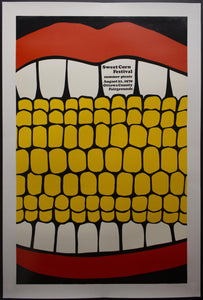 1970 Herman Miller Summer Picnic Poster by Steve Frykholm First in Series - Golden Age Posters
