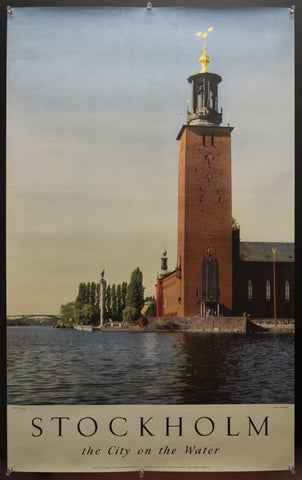 c.1954 Stockholm The City On The Water City Hall Lars Ryde