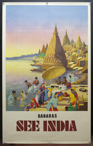 c.1955 See India – Banaras on the Ganges