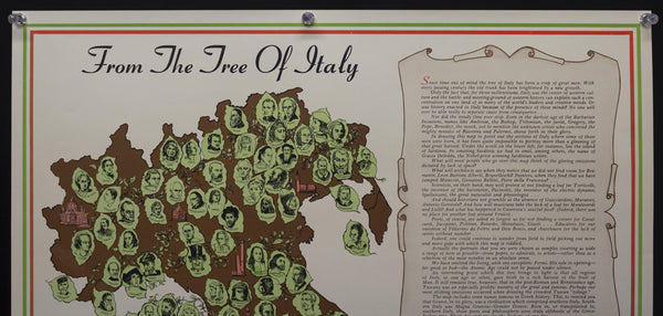 c.1954 From The Tree of Italy Italian Embassy Cultural Division Lucia Autorino Salemme