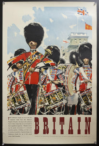 1954 Coldstream Guards by Albert Brenet British Travel and Holidays Association