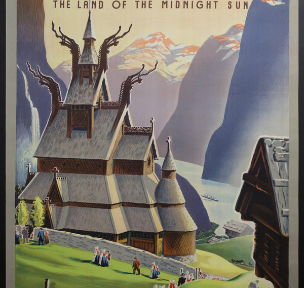 1955 Norway The Land Of The Midnight Sun In Festive Spring Ivar Gull