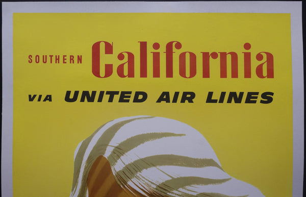c.1960 Southern California via United Air Lines by Stan Galli Travel